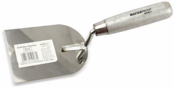 Stukkateurspachtel, MASTERPROOF, 80mm - Produktbild 2
