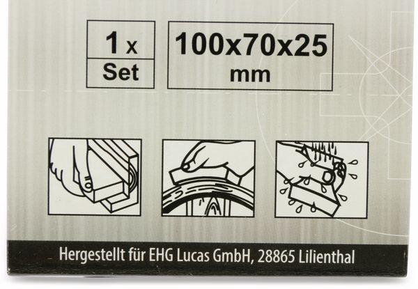 Schleifpad, EUROTOOLS, 100x70x25mm - Produktbild 2