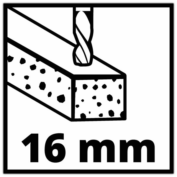 Schlagbohrmaschine EINHELL TC-ID 1000 E Kit, 4259844, 230 V~ - Produktbild 6