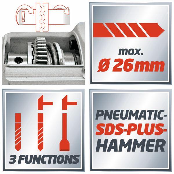 Bohrhammer EINHELL TH-RH 900/1, SDS-Plus, 230V~, 900 W - Produktbild 9