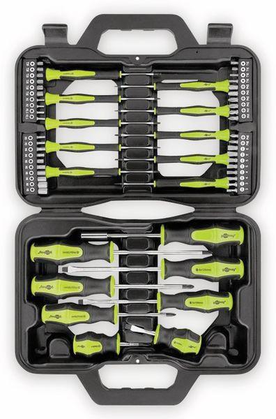 Schraubendrehersatz GOOBAY 74005, 58-teilig, im Koffer - Produktbild 2