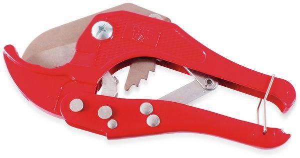 Rohrschere, bis 42mm, rot