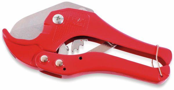 Rohrschere, bis 42mm, rot, Handwerkerqualität