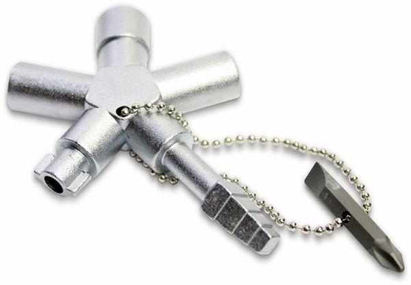 Schaltschrank-Schlüssel ABSINA SI Key Bau Plus 1005 - Produktbild 1