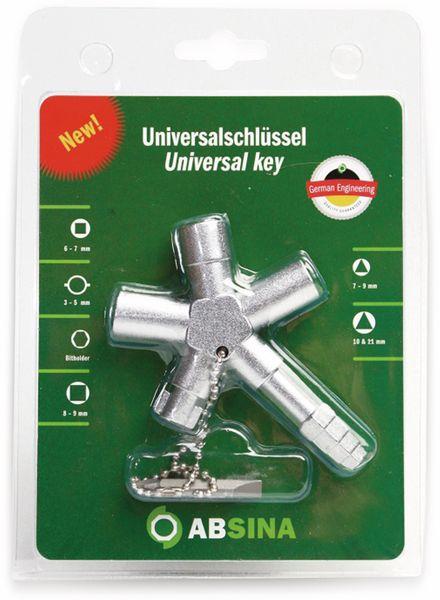 Schaltschrank-Schlüssel ABSINA SI Key Bau Plus 1005 - Produktbild 2