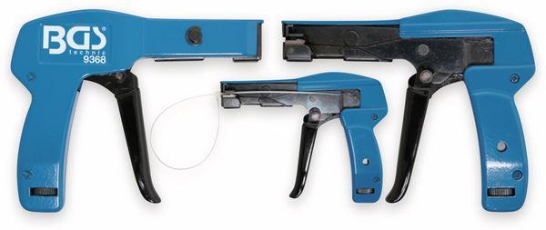 Kabelbinder-Spannpistole, BGS 9368, 2,4…4,8 mm, blau