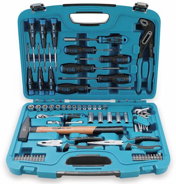 Steckschlüssel-Werkzeugkoffer BGS 2217, 67-tlg.