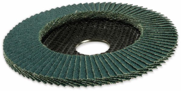 Lamellen-Schleifteller, KWB, 115 mm, Körnung 60, 10 Stück - Produktbild 2