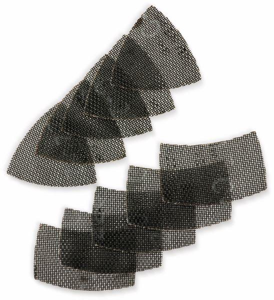 Schleifdreieck-Set, KWB, K220, 150x105mm, 5 Stück