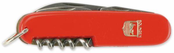 Klappmesser, 6,8 cm, Kunstoff, rot - Produktbild 2