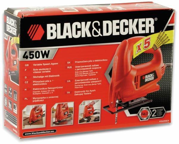 Stichsäge, BLACK&DECKER, KS600EA-KX, 450W - Produktbild 5