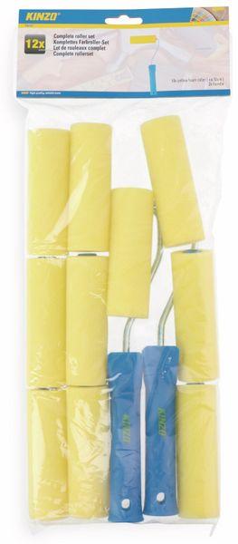 Maler-Roller-Set KINZO, 12-teilig - Produktbild 2