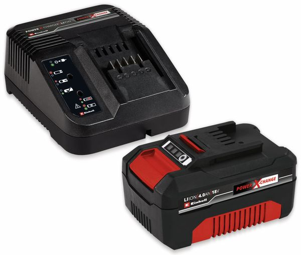 Power X-Change Starter Kit EINHELL 4512042, 18V 4Ah