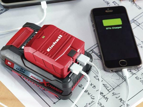 USB-AKKU-ADAPTER, EINHELL, TE-CP 18 Li USB-Solo - Produktbild 3