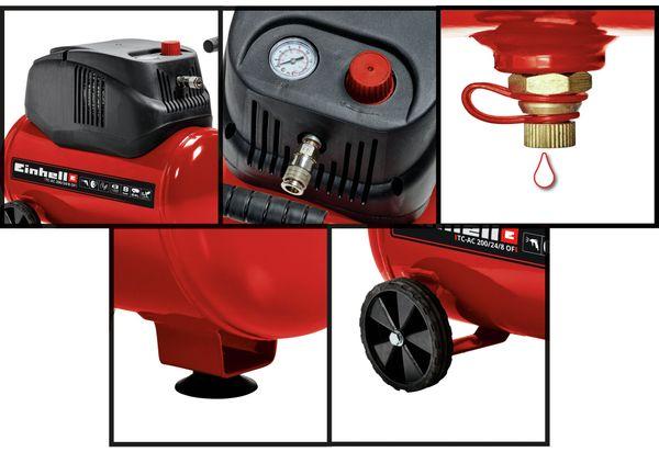 Luft-Kompressor EINHELL TC-AC OF 200/24/8, 230V~, 1200 W - Produktbild 2