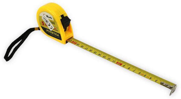 Rollenmaßband, 17005, gelb, 5 m
