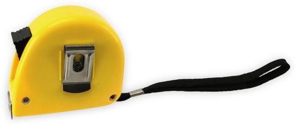 Rollenmaßband, 17005, gelb, 5 m - Produktbild 2