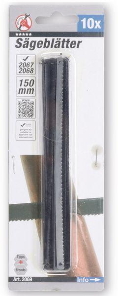 Ersatz-Sägeblätter, 150 mm, Kunststoff, Holz 10 Stück - Produktbild 2