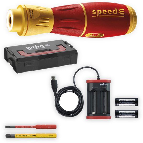E-Schraubendreher Set WIHA speedE II, 7tlg