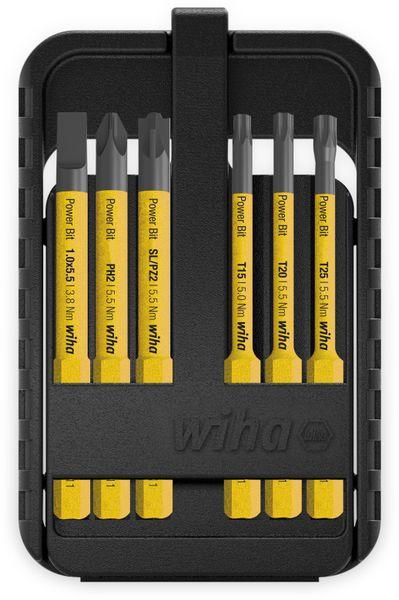 Bit Set WIHA 44106 slimBit electric, 6-teilig, gelb