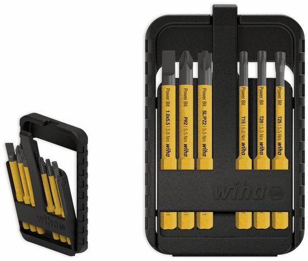 Bit Set WIHA 44106 slimBit electric, 6-teilig, gelb - Produktbild 2