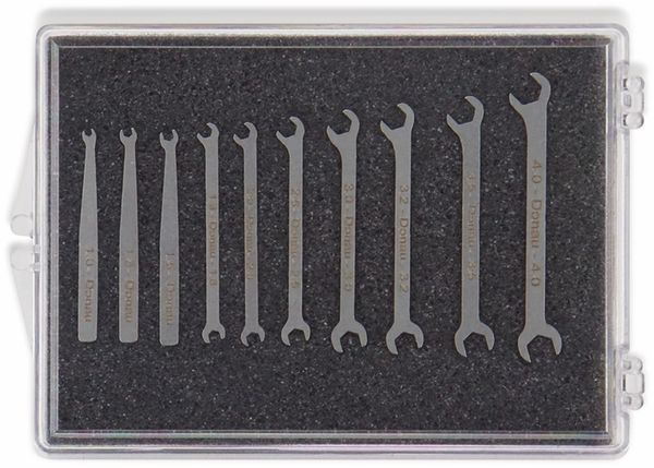 Micro-Maulschlüsselsatz DONAU ELEKTRONIK, 980-SET, 1-4mm - Produktbild 4