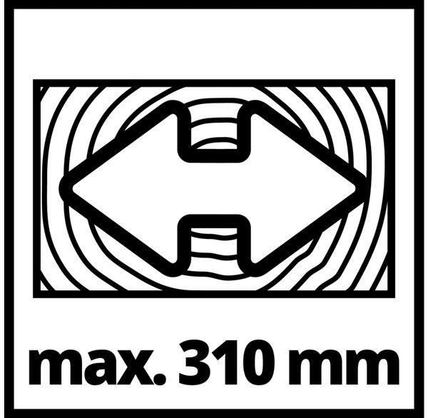 Zug-Kapp-Gehrungssäge EINHELL TC-SM 2131/1 Dual, 230 V~ - Produktbild 5