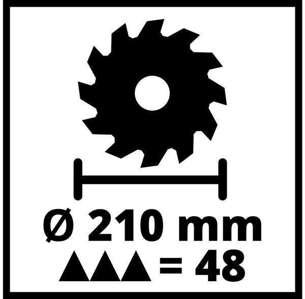 Zug-Kapp-Gehrungssäge EINHELL TC-SM 2131/1 Dual, 230 V~ - Produktbild 9