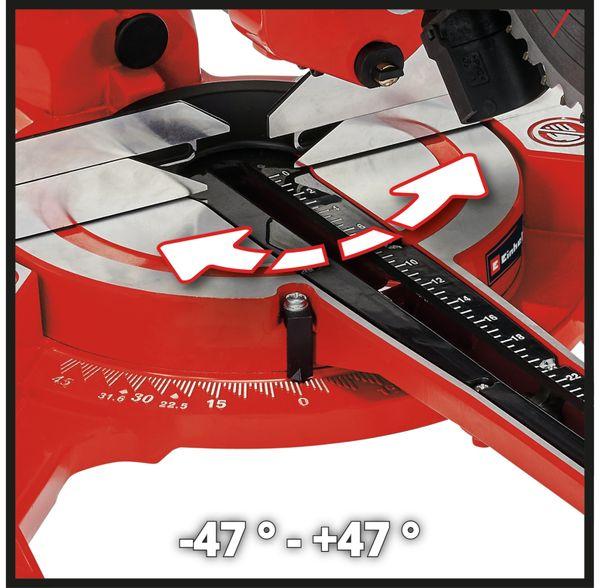 Zug-Kapp-Gehrungssäge EINHELL TC-SM 2131/1 Dual, 230 V~ - Produktbild 10