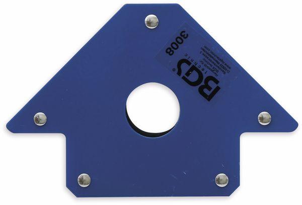 Magnetischer Schweiß- und Montagewinkel BGS 3008 155 mm