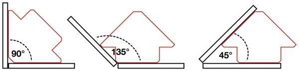 Magnetischer Schweiß- und Montagewinkel BGS 3008 155 mm - Produktbild 4