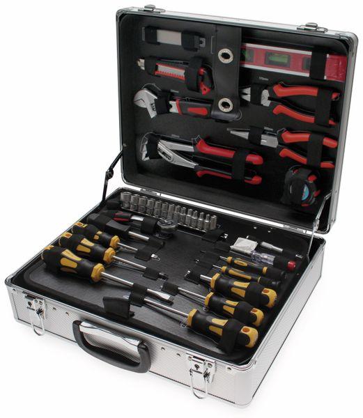 Werkzeug-Satz BGS DIY 2204 im Alukoffer, 129-tlg.
