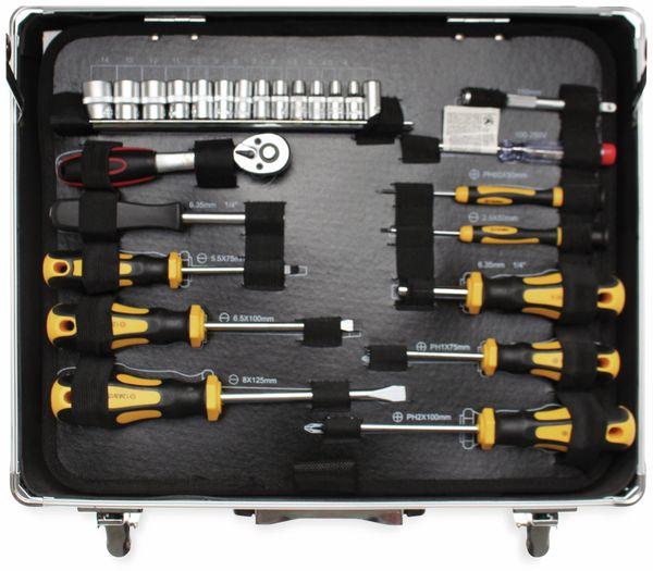 Werkzeug-Satz BGS DIY 2204 im Alukoffer, 129-tlg. - Produktbild 5