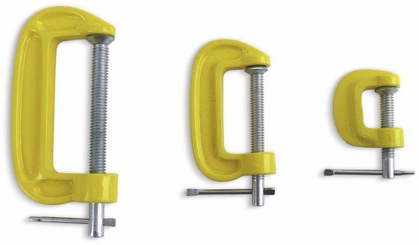 C Schraubzwingen Set DAYTOOLS SG8345, 3-teilig