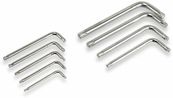 Innenstern-Schlüsselsatz DAYTOOLS SLS153, kurz, 9-teilig, T10...T50