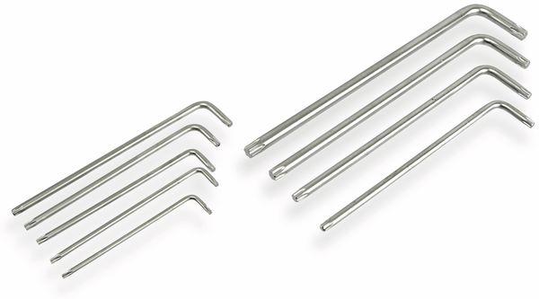 Innenstern-Schlüsselsatz DAYTOOLS SLL159, 9-teilig, T10...T50