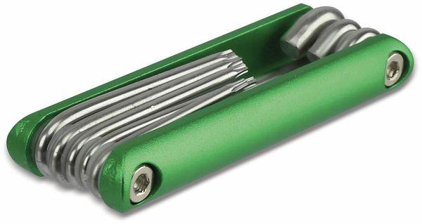 Innenstern-Schlüsselsatz DAYTOOLS SLT940, 8-teilig, T9...T40 - Produktbild 3