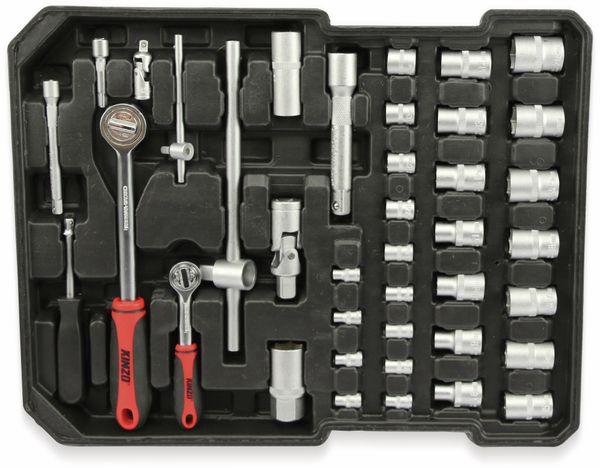 Werkzeug-Satz KINZO 16672, 187-teilig, im Alu-Rollkoffer - Produktbild 5