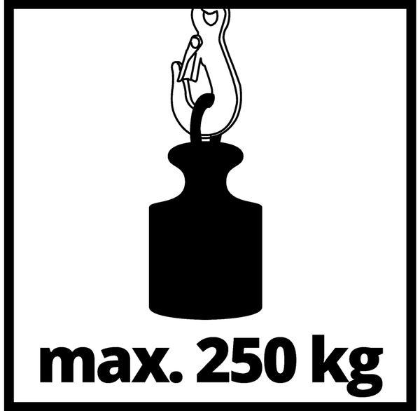 Seilhebezug EINHELL TC-EH 250, 500 W, 250 kg - Produktbild 12