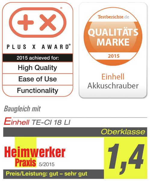Akku-Schlagschrauber EINHELL TE-CI 18/1 Li Solo - Produktbild 9