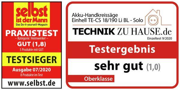 Akku-Handkreissäge EINHELL TE-CS 18/190 Li BL Solo - Produktbild 7