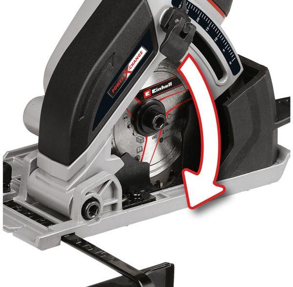 Akku-Mini-Handkreissäge EINHELL TE-CS 18/89 Li Solo - Produktbild 2