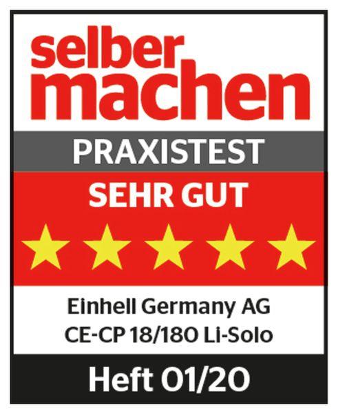 Akku-Polier- und Schleifmaschine EINHELL CE-CP 18/180 Li E Solo - Produktbild 2