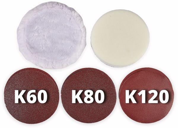 Akku-Polier- und Schleifmaschine EINHELL CE-CP 18/180 Li E Solo - Produktbild 9