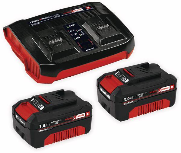 PXC-Starter-Kit EINHELL 2x 3,0Ah & Twincharger Kit