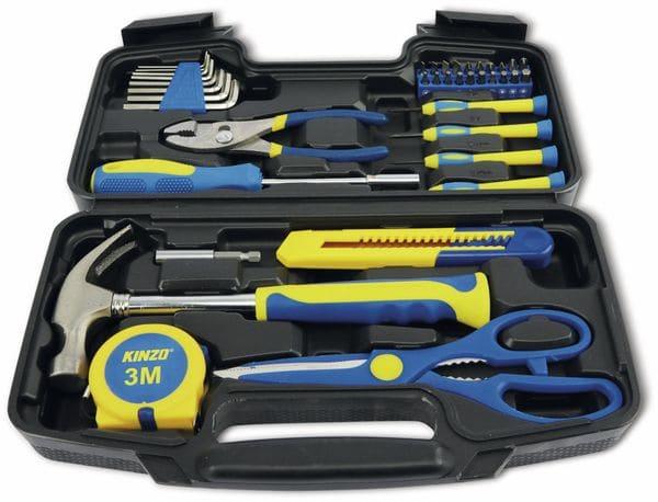 Werkzeug-Set Home KINZO, 39-teilig