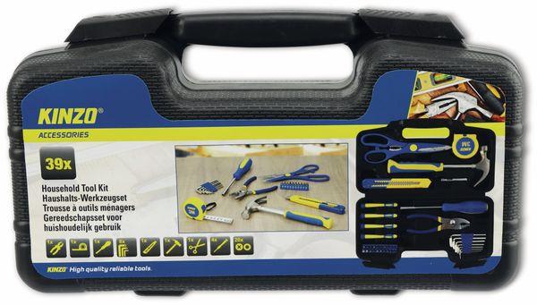 Werkzeug-Set Home KINZO, 39-teilig - Produktbild 2