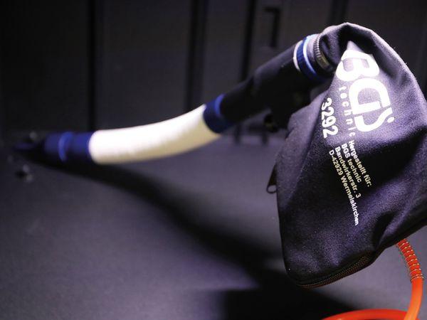 Druckluft-Saug- / Blaspistole, BGS, 9392, umschaltbar, 9-tlg. - Produktbild 6