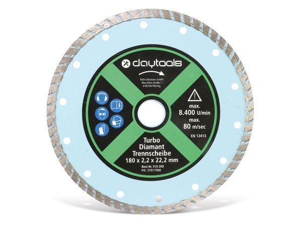 Diamant-Trennscheibe mit Turborand, 180 mm - Produktbild 1