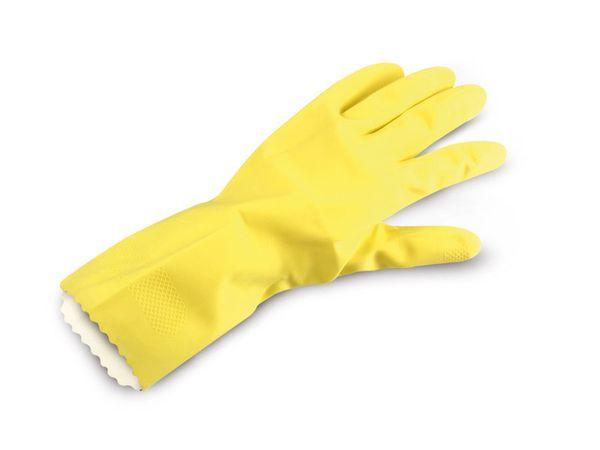 Haushaltshandschuhe gelb, Größe 10